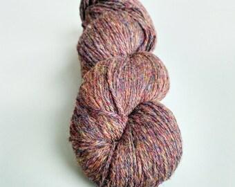 KAUNI Undyed Wool Yarn, Worsted Weight 8/3  3ply, 100% wool