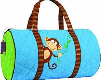 Stephen Joseph Owl Quilted Duffel for girls personalized monogrammed