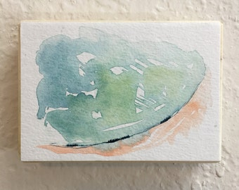 Mini Painting, Watercolor Landscape, Landscape Painting, Original Artwork, Abstract Painting, Art Under 30, Art Collection