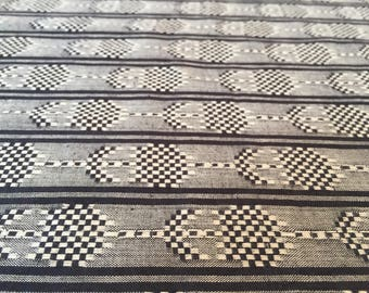 Seedlings in Black, Loominous Collection by Anna Maria Horner for Free Spirit Fabrics 1/2 yd