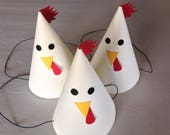 CUSTOM ORDER for kirchnerc -- (40) Farm Animal Themed Party Hats