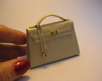 Leather bag 1/6 scale