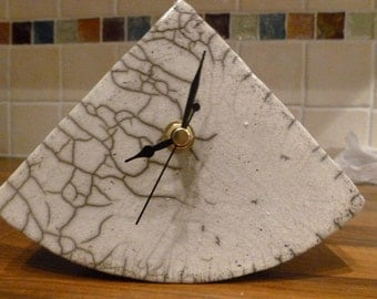 Ceramic Clock (RAKU fired)