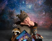 """Groot, Guardians of the Galaxy Hat, Groot, Put Your Seatbelt On, Baby Groot Hat, NB to Adult, Newborn Photo Prop, """"I am Groot!"""""""