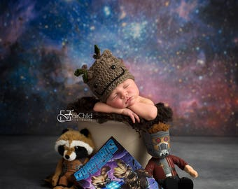 "Groot, Guardians of the Galaxy Hat, Groot, Put Your Seatbelt On, Baby Groot Hat, NB to Adult, Newborn Photo Prop, ""I am Groot!"""