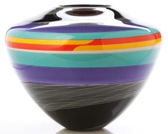 Rhapsody, Blow art glass vessel
