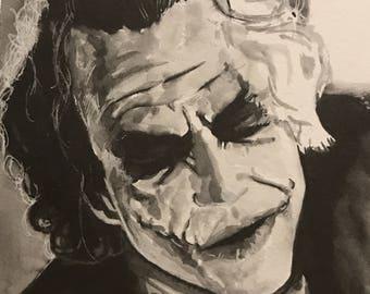 Joker stranger 8x6 inch Original