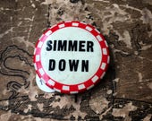 Reserved Listing 1940s Pinback Button