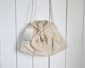 Snake Skin Bag 1980s White Genuine Leather Vintage Large Cross Body Shoulder Bag Ohh Ashley