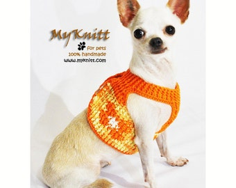 Free Crochet Pattern For Dog Harness : Items similar to Dog Harness XXS Black Grey Pet Leash ...