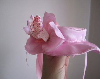 Dog Hat Pink Orchid