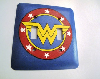 Wonder Woman Switch Plate