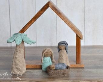 Crochet Nativity Set PDF DOWNLOAD