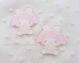 1pc - Kawaii Baby My Melody Cute Mix Decoden Cabochon (40mm) MYM008