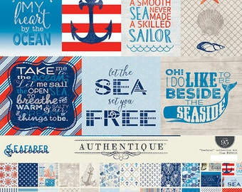 "Authentique Paper Collection ""Seafarer"" Collection Kit"