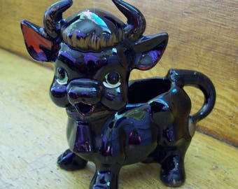 black cow creamer, small cow creamer