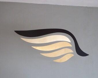 Avian Shadow Brass Mobile