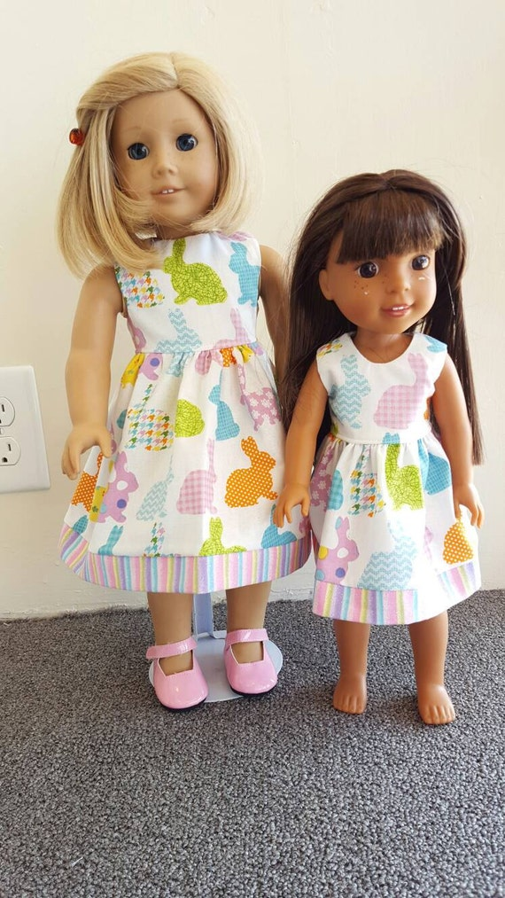 AG and WW White Bunny Dress for her Easter Basket