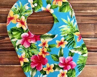 Hawaiian Baby Bib Birthday Party Accessory Hawaii