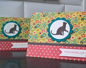 Cat Sympathy Card, Pet Loss Card, Cat Condolences Card, Kitty Lover Card, Pet Sympathy Card