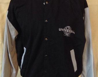 Vintage Universal Studios MCA Company Hollywood Studio bomber jacket USA XL