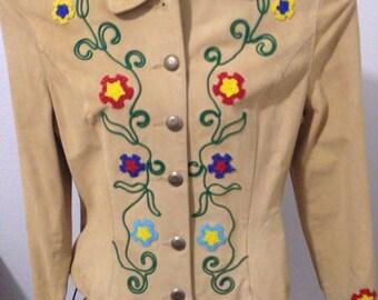 Vintage Phoenix USA Frontier Western beaded jacket