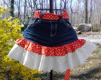 CLEARANCE SALE! Jean Aprons Recycled Upcycled All Half Price! CLOSEOUT Liquidation