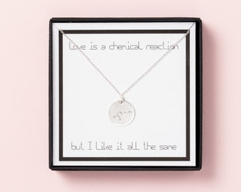 Chemical Reaction Necklace
