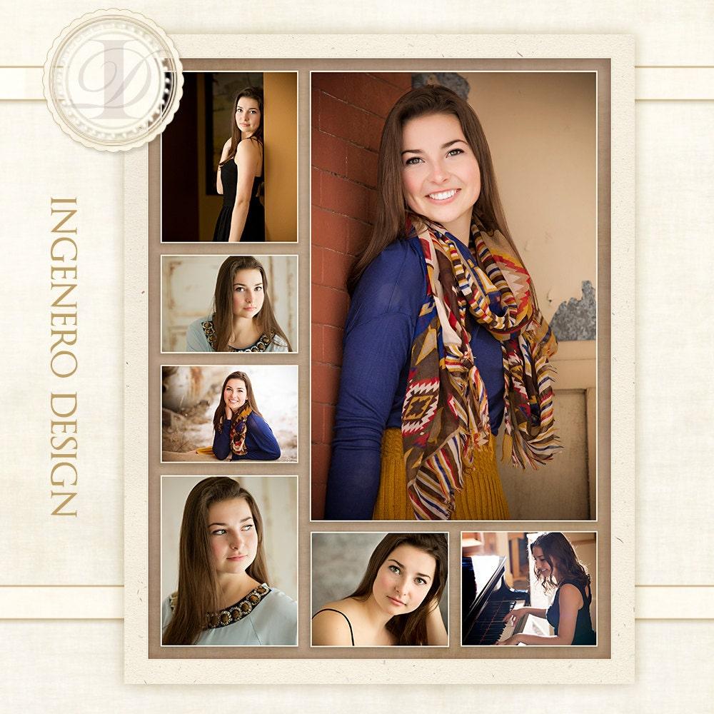 senior photo collage templates - senior collage photo collage digital photo collage senior