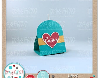 Love Lollipop Holder Cutting Files - Instant Download