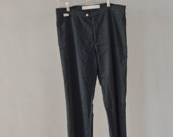 SALE Black VERSACE  pants Vintage 90's womens summer pants designer pants