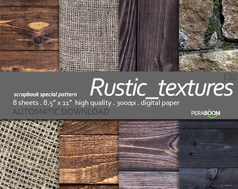 Wood digital paper Wood paper wood scrapbook Wood background Printable photo background Photo back Digital paper Rustic Wood texture Rustic