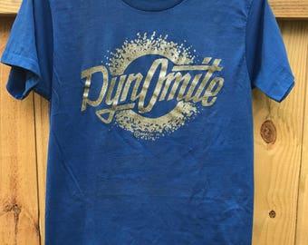 Vintage 70s Original Rare Roach Dinomite Tshirt Circa 1974 Vintage Size Large