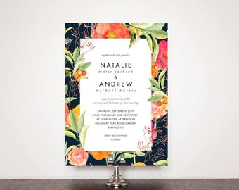 Florence Wedding Invitation Suite