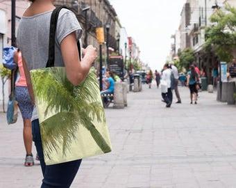 Beach Tote Bag | Palm Tree Bag | beach bag personalized | Palm Tree Tote Bag | Tropical Tote Bag | 16 x 16 tote bag | 18 x 18 tote bag