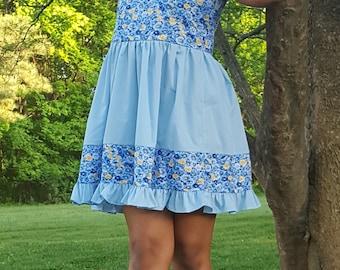 Tween girl dress, sundress, tween summer dress