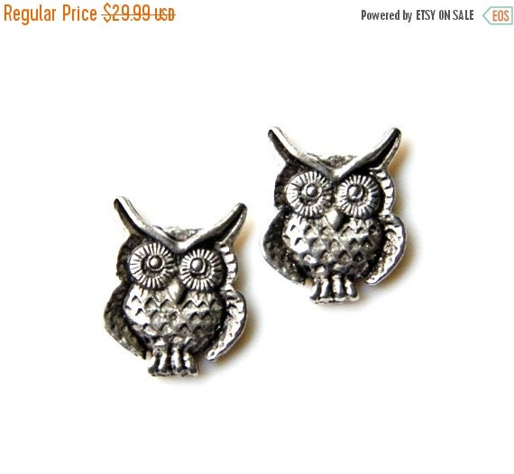 On Sale Owl Cufflinks - Gifts for Men - Anniversary Gift - Handmade - Gift Box Included