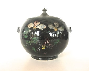 Vintage Pottery Cookie Jar