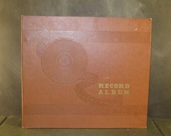 Vintage LP Vinyl Record Storage Folder