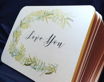 Shimmery Cream Note Card Set