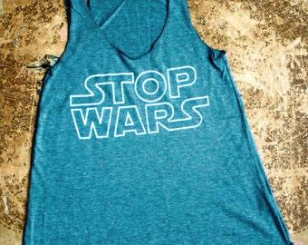 Turquoise Stop Wars Tank