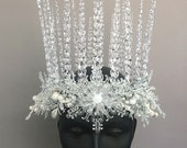 Ice Queen Headdress Crown