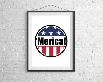 Merica! Poster