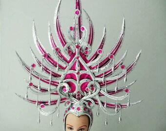 Pitchfork Pronged Spear Devil Prince Princess Warrior Headdress