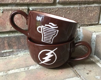 Central City Jitters Coffee Mug from The Flash
