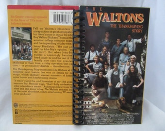 The Waltons Thanksgiving Story VHS Notebook