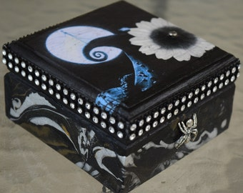 Mini Nightmare Before Christmas Decorative Box
