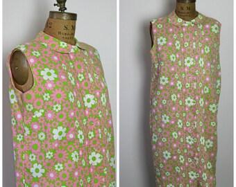 1960s Carol Brent Shift Dress