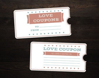 Valentineu0027s Day Printable Love Coupon Booklet Microsoft Word Template  Microsoft Word Coupon