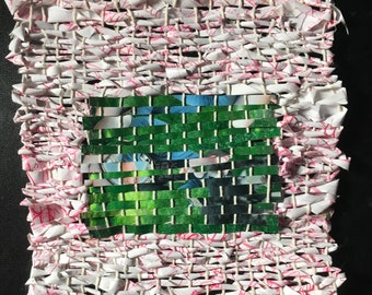 Compartmentalize - Paper and Photo Weaving